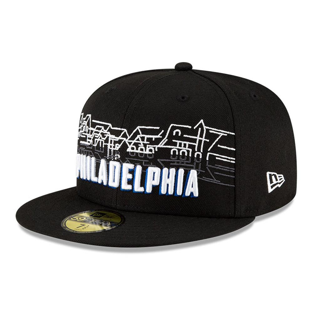 Cappellino 59FIFTY City Edition Philadelphia 76ers nero