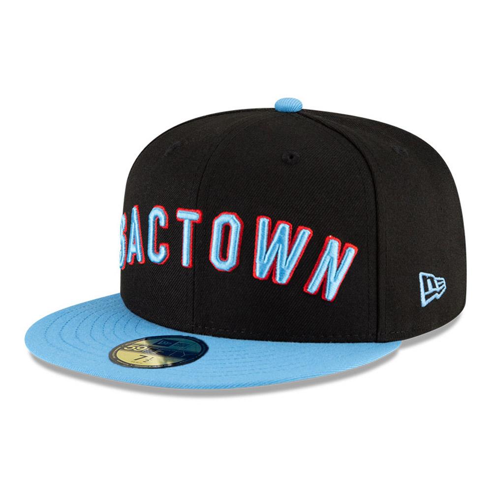 Sacramento Kings NBA City Edition Black 59FIFTY Cap