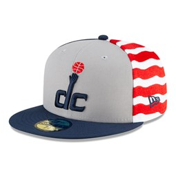 Washington Wizards NBA City Edition Blue 59FIFTY Cap