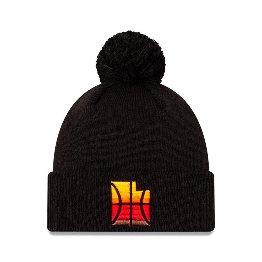 Utah Jazz NBA City Edition Dark Black Knit