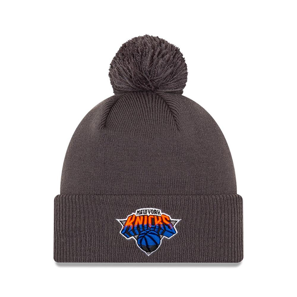 Berretto di maglia New York Knicks NBA City Edition grigio