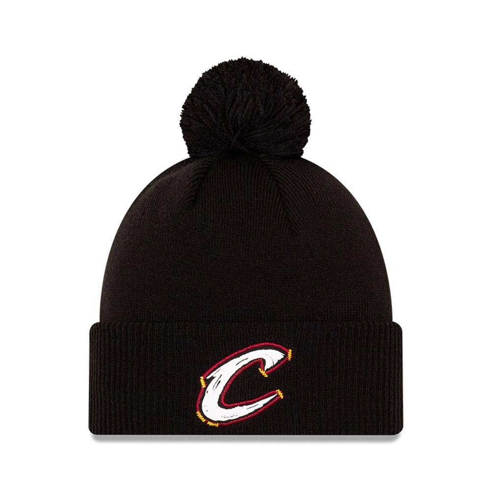 Berretto di maglia NBA City Edition Cleveland Cavaliers nero