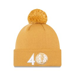 Bonnet des Dallas Mavericks de la NBA City Edition, beige