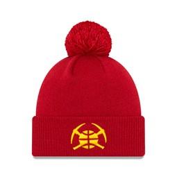 Chapeau en maille des Denver Nuggets de la NBA City Series, rouge