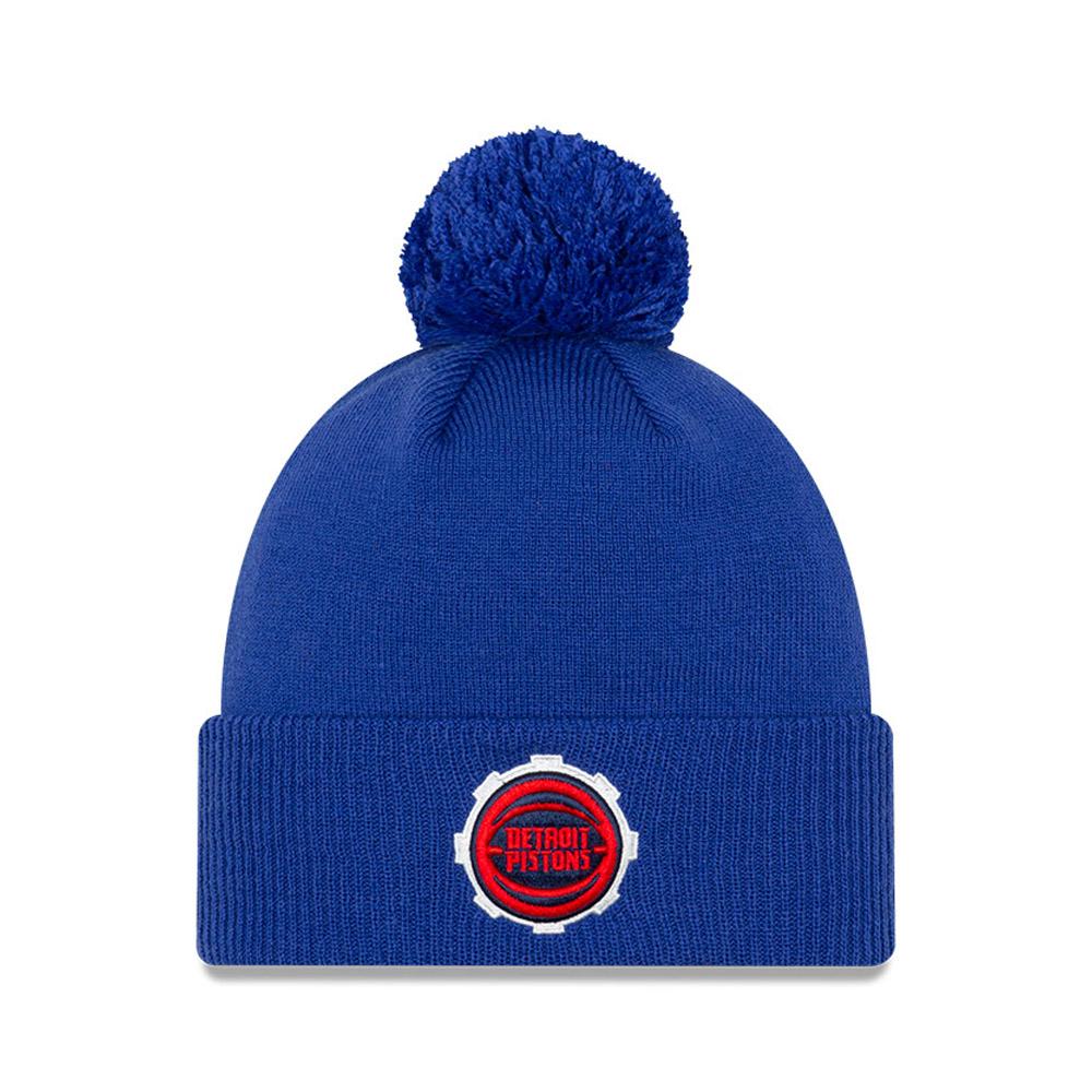 Detroit Pistons NBA City Edition Blue Knit