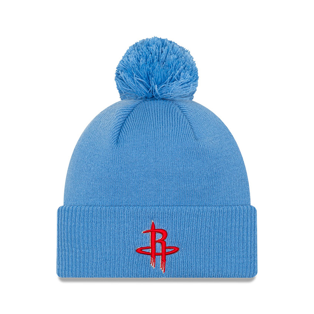Bonnet des Houston Rockets de la NBACityEdition, bleu
