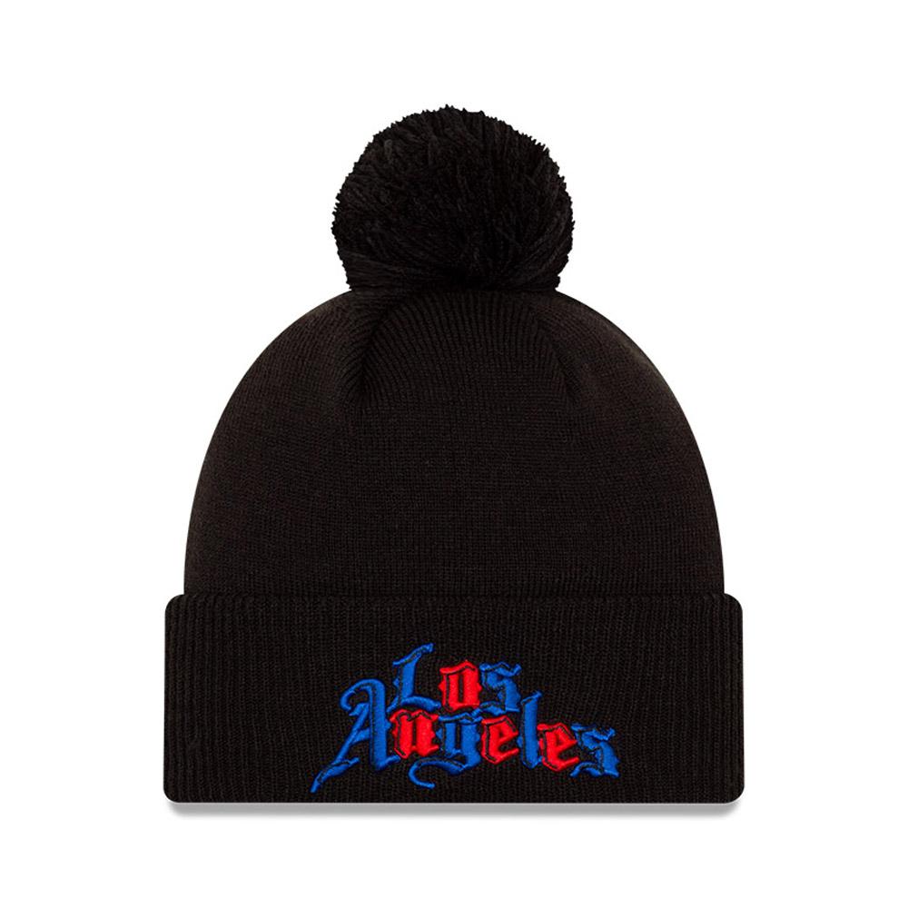 Bonnet des Los Angeles Clippers City Series, noir