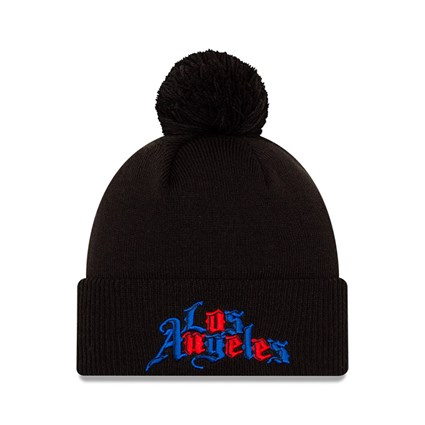 Los Angeles Clippers City Edition Black Knit