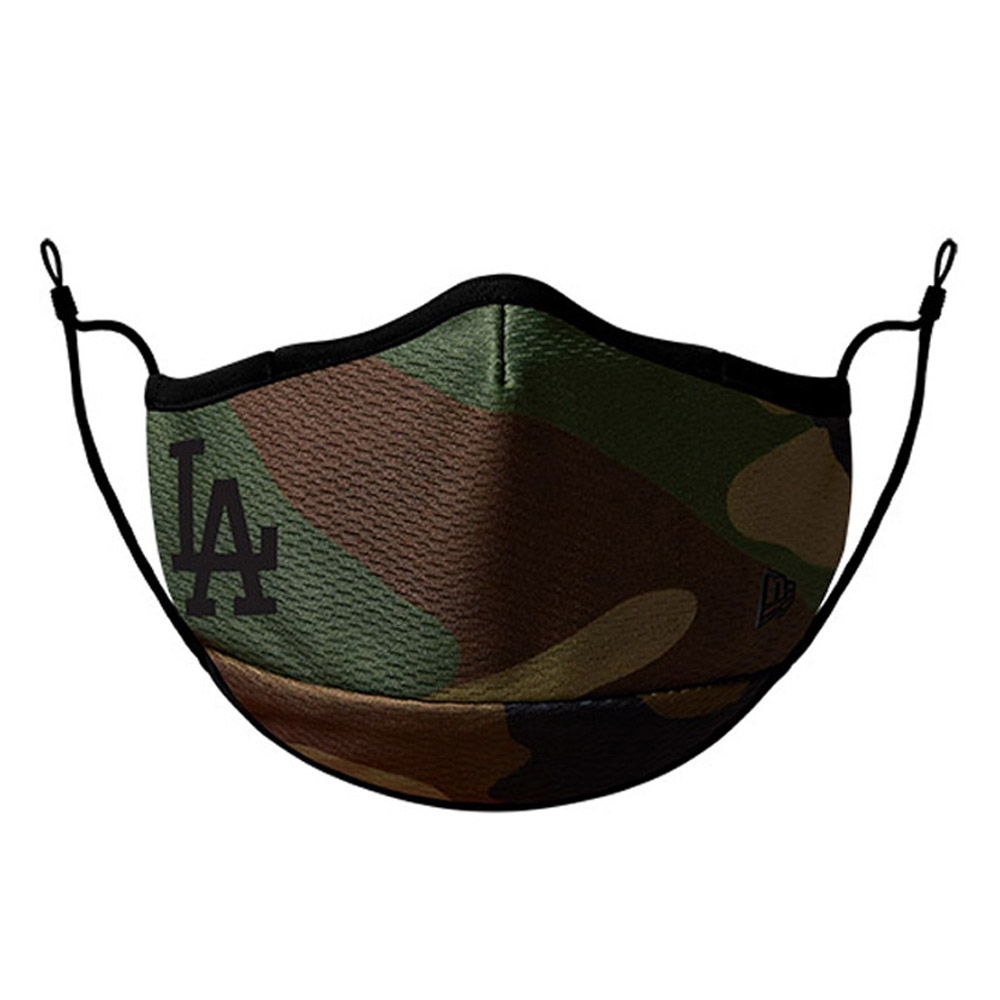 Los Angeles Dodgers Camo Face Mask