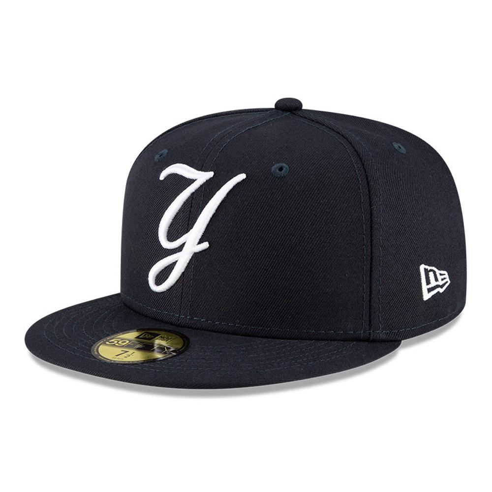 Cappellino New York Yankees MLB Ligature 59FIFTY blu navy