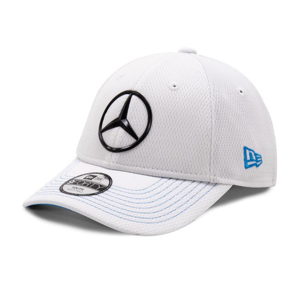 Cappellino 9FORTY Mercedes-Benz Formula E bambino bianco