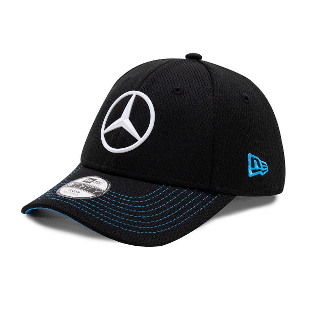 Cappellino 9FORTY Mercedes-Benz Formula E bambino nero