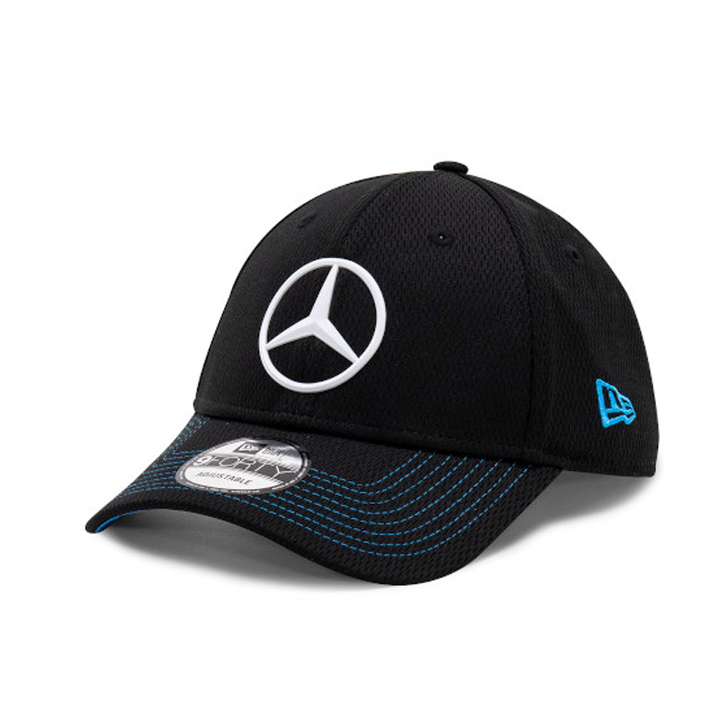 9FORTY – Mercedes Benz – Formel E – Kappe in Schwarz