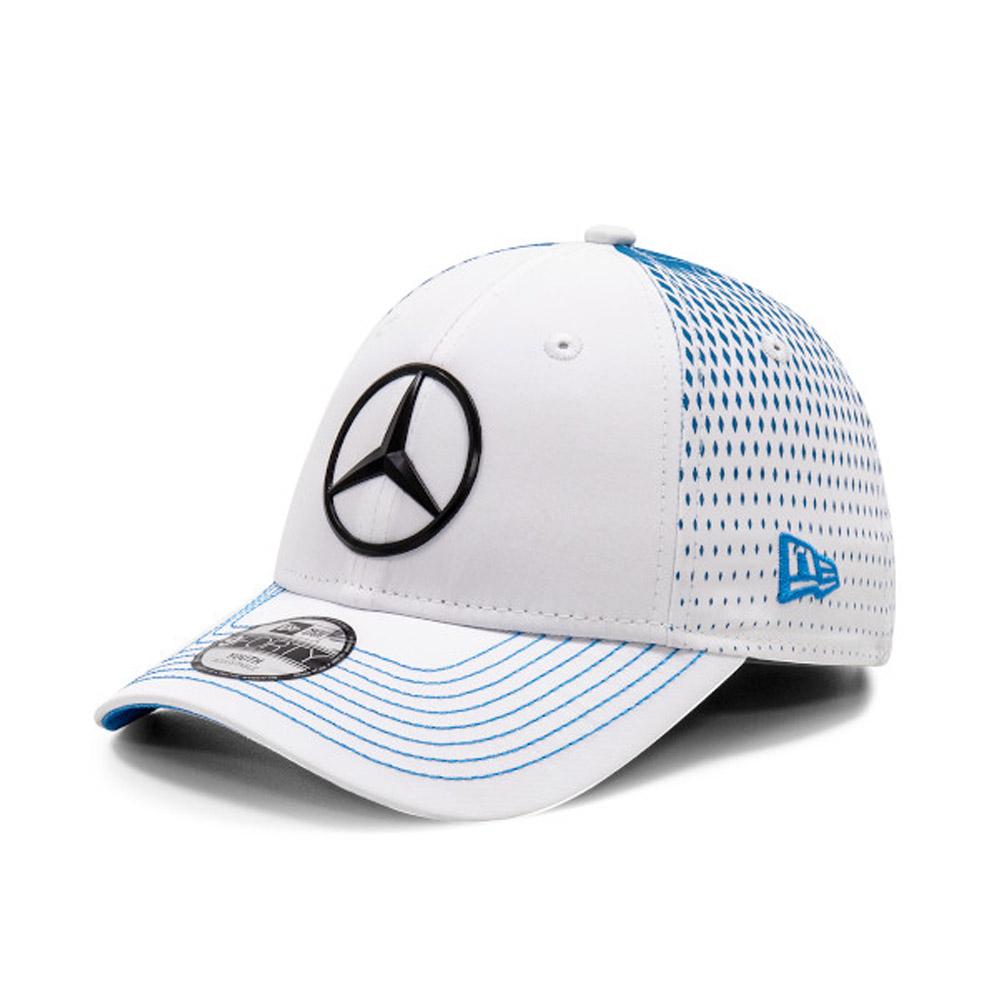 Gorra Mercedes-Benz Formula E Stoffel Vandoorne 9FORTY, niño, blanco