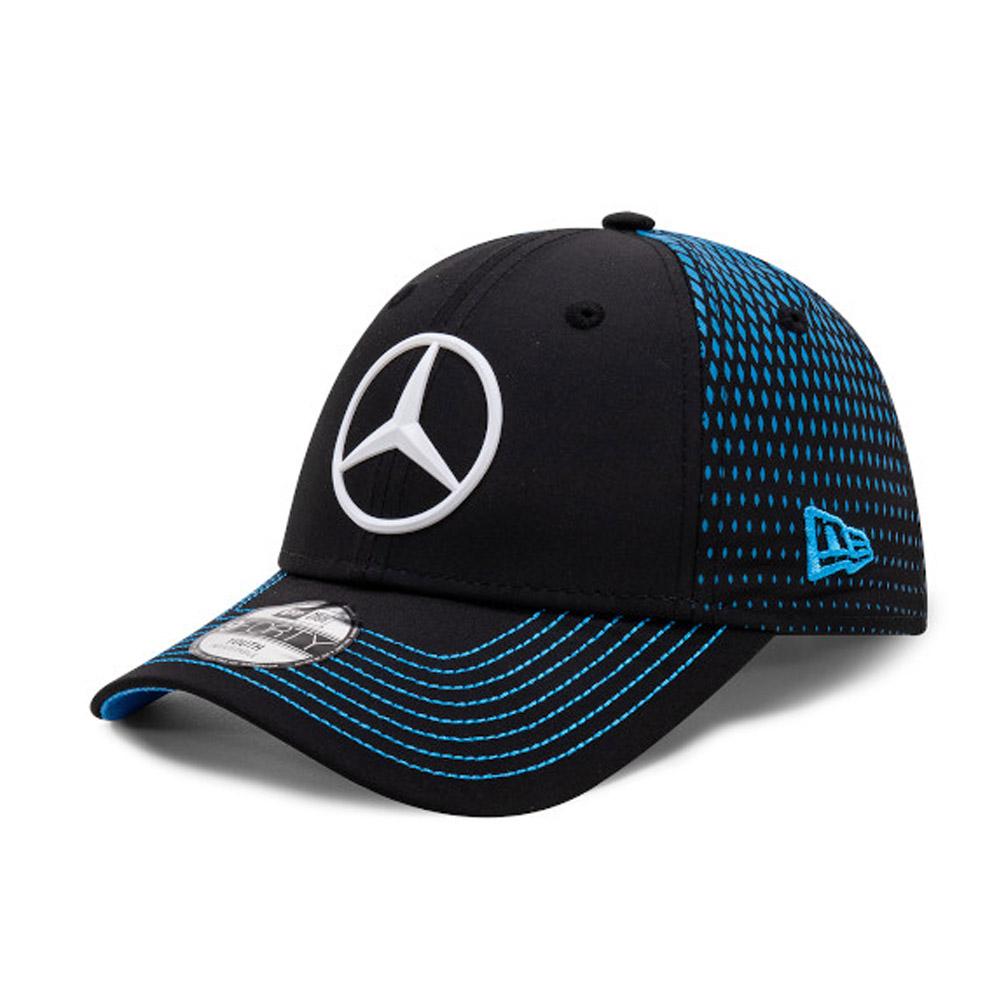 Casquette 9FORTY Mercedes-Benz Formula E Stoffel Vandoorne, noire, pour enfant
