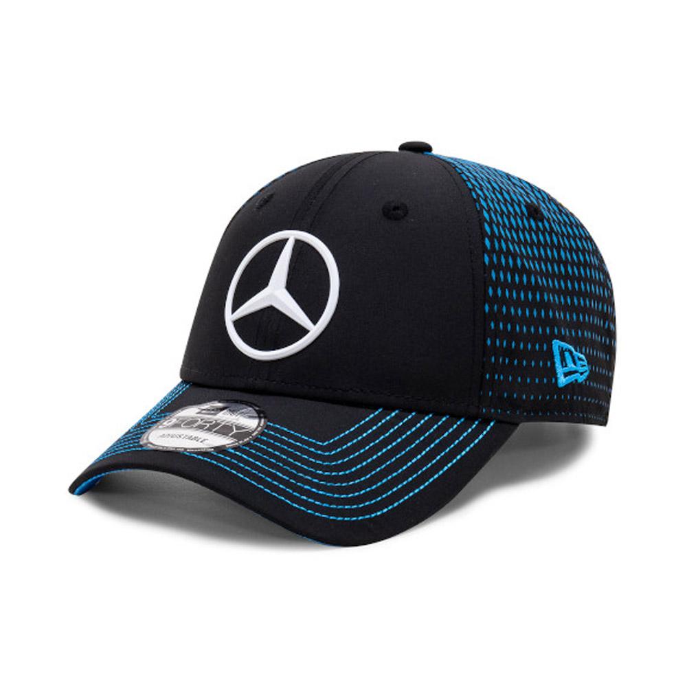 Cappellino 9FORTY Mercedes-Benz Formula E Stoffel Vandoorne nero