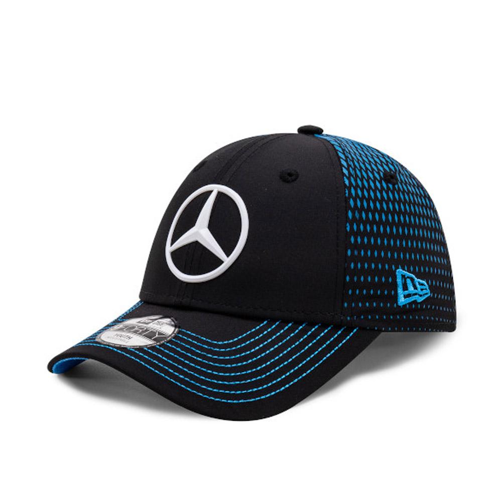 Cappellino 9FORTY Mercedes-Benz Formula E Nyck de Vries bambino nero