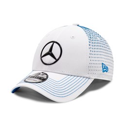 Mercedes-Benz Formula E Nyck de Vries White 9FORTY Cap