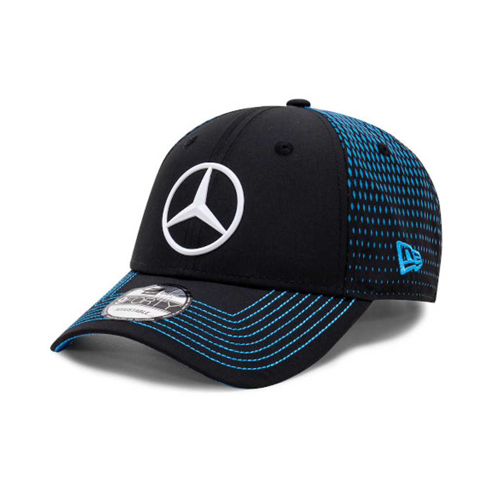 Cappellino 9FORTY Mercedes-Benz Formula E Nyck de Vries nero