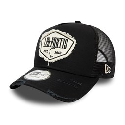 Leo Fortis A-Frame Patch Trucker nero