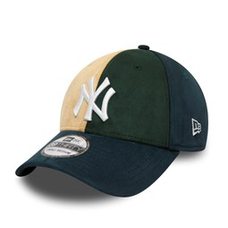 New York Yankees Suede Logo 39THIRTY Cap