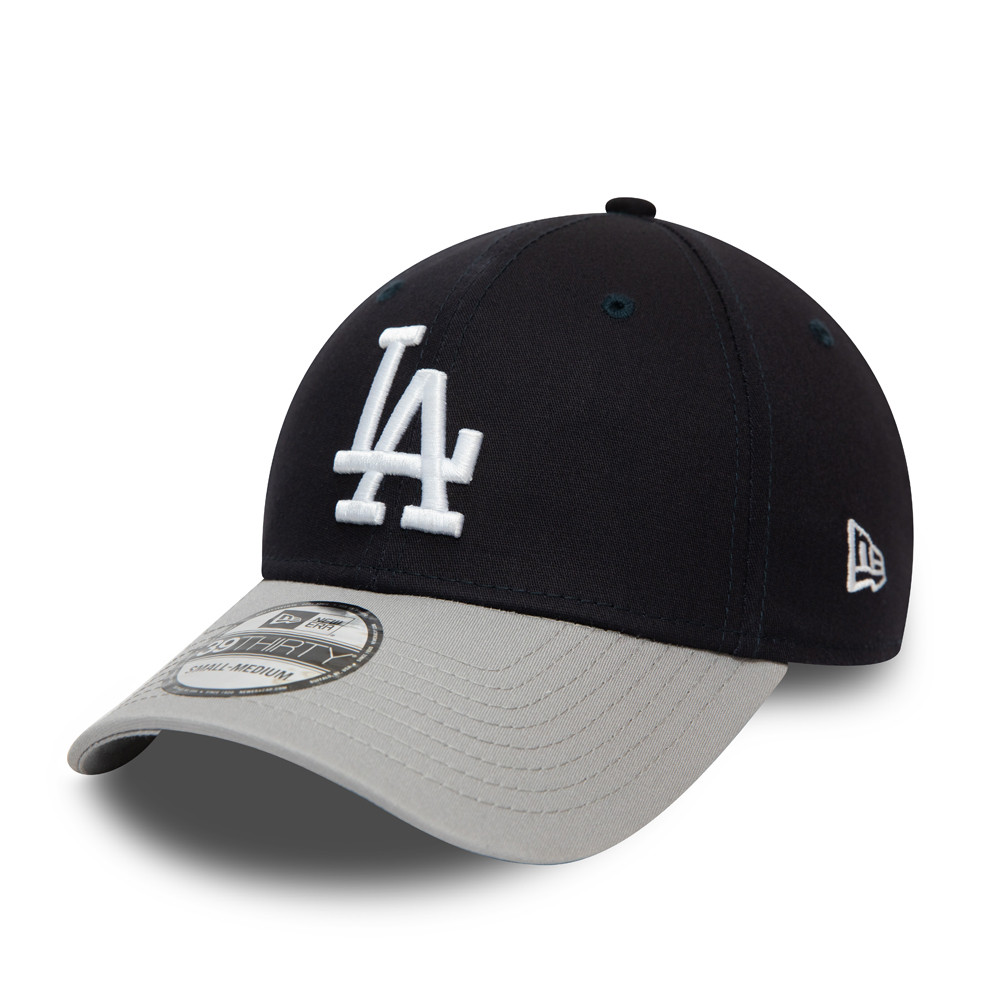 Cappellino Los Angeles Dodgers Essential Contrast Visor 39THIRTY