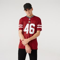 San Francisco [#0]}ers – Oversized-Jersey in Rot