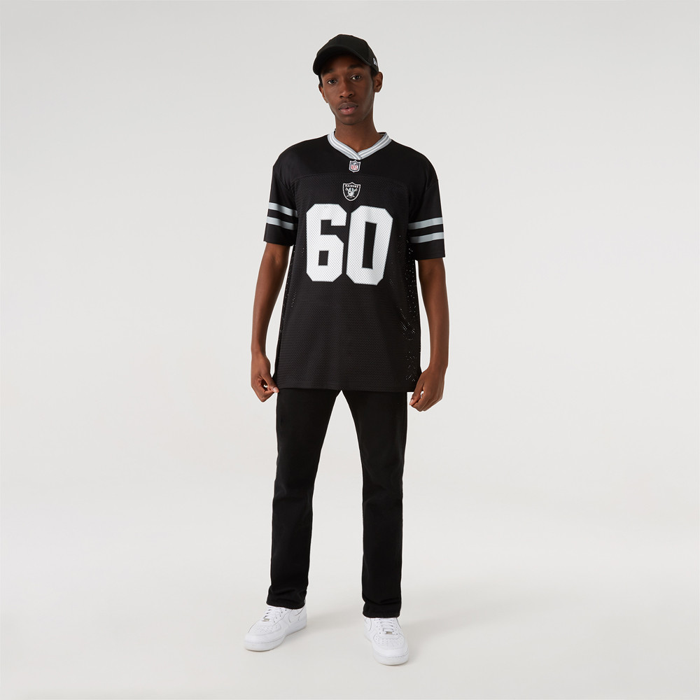 Las Vegas Raiders – Oversized-Jersey in Schwarz