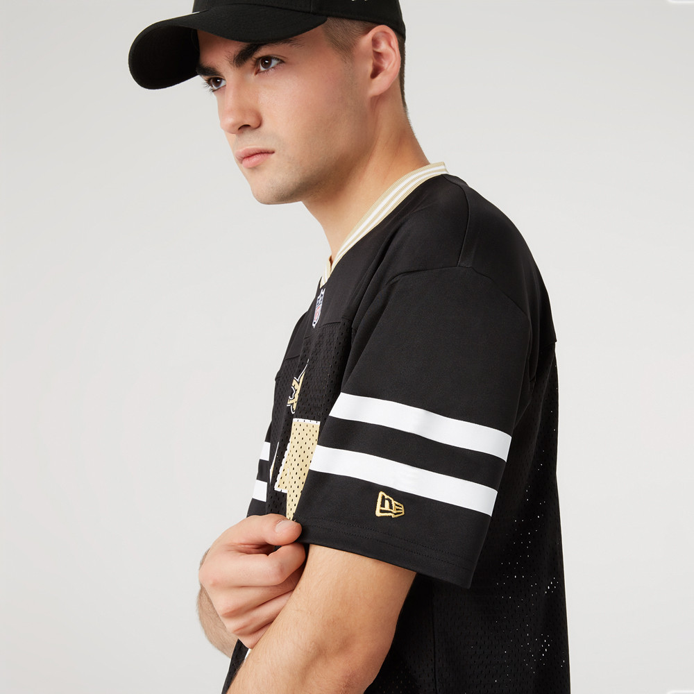 New Orleans Saints – Oversized-Jersey in Schwarz