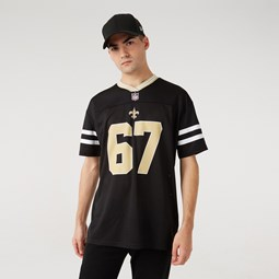 New Orleans Saints – Oversized-Jersey in Schwarz