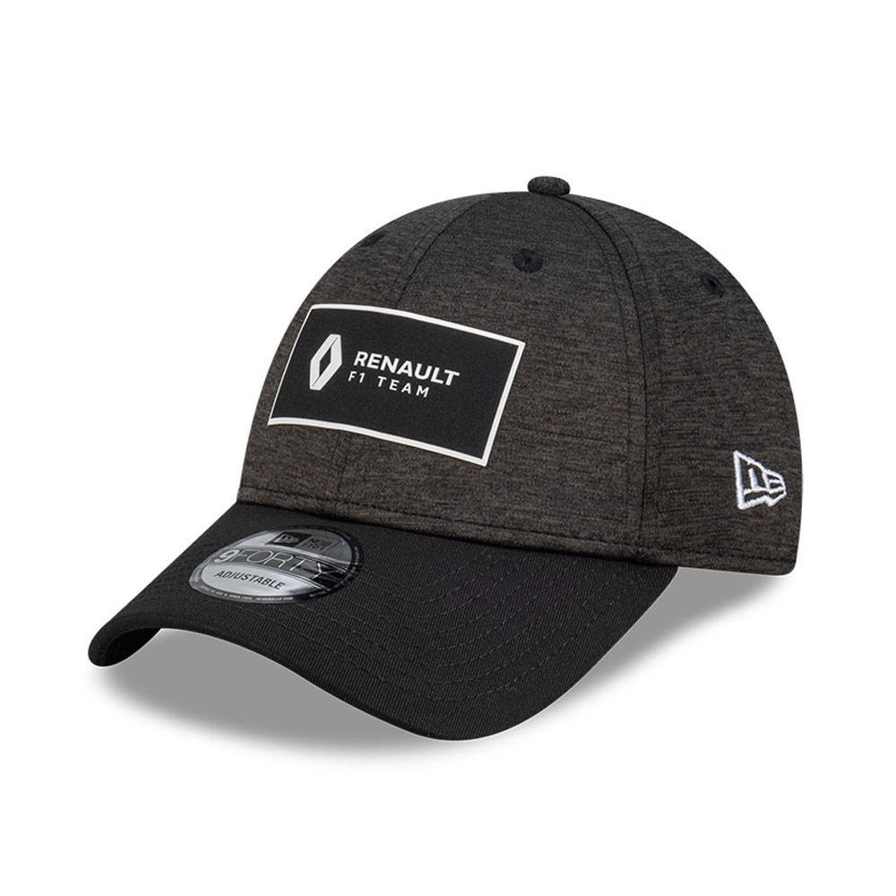 Gorra Renault Shadow Tech 9FORTY, negro