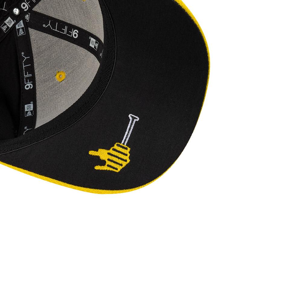 9FIFTY – Renault 3 – Daniel Ricciardo – Stretch-Snap-Kappe in Schwarz