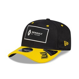 Renault 3 Daniel Ricciardo Black Stretch Snap 9FIFTY Cap