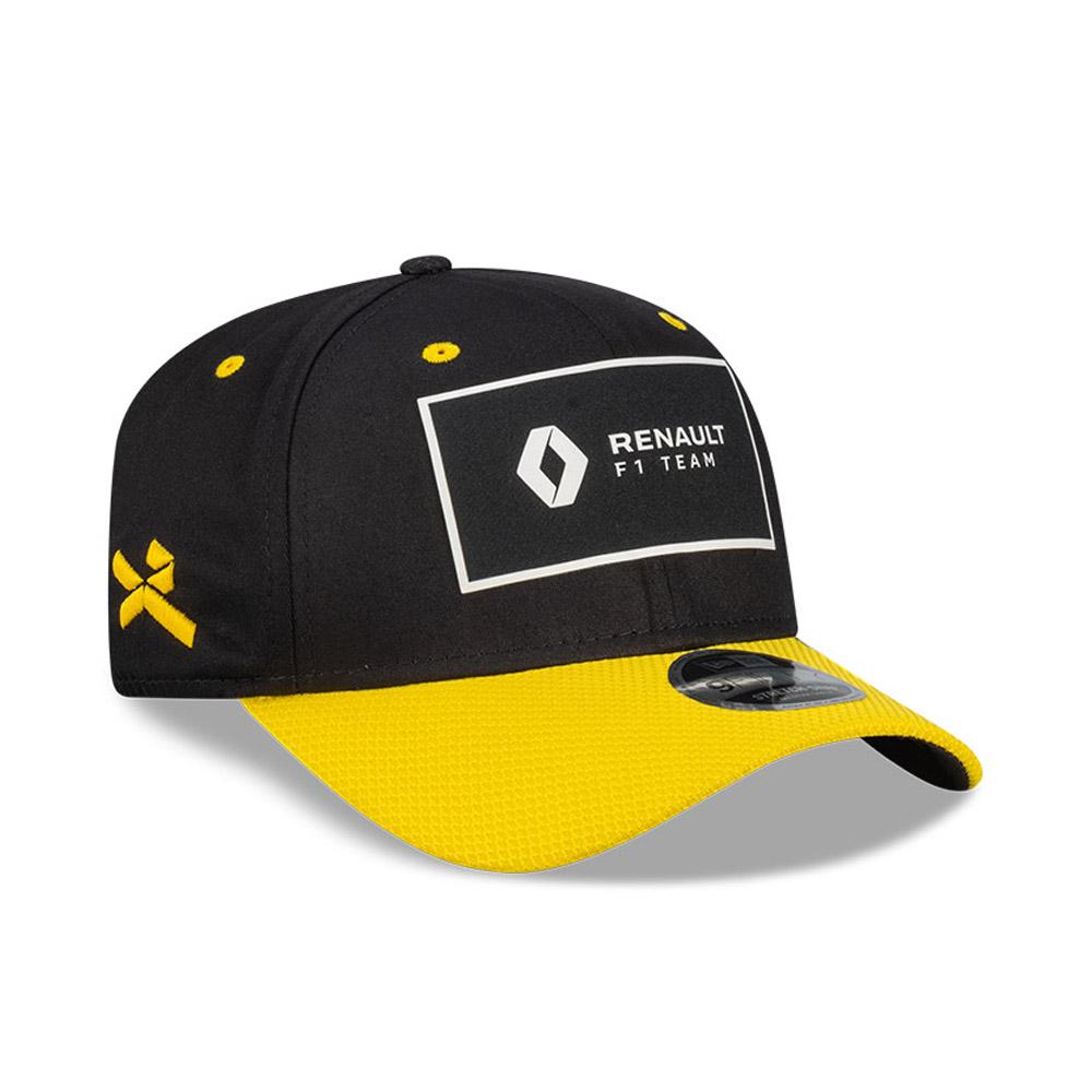 Cappellino Renault 3 Daniel Ricciardo Stretch Snap 9FIFTY nero
