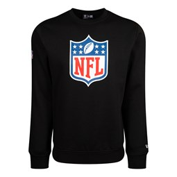 NFL Logo Black Crew Neck