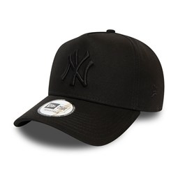New York Yankees Colour Essential Black A-Frame Trucker Cap
