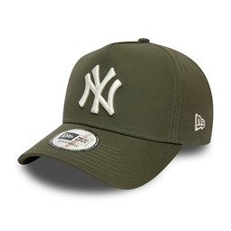 New York Yankees Colour Essential Khaki A-Frame Trucker Cap