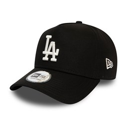 LA Dodgers Colour Essential Black A-Frame Trucker Cap