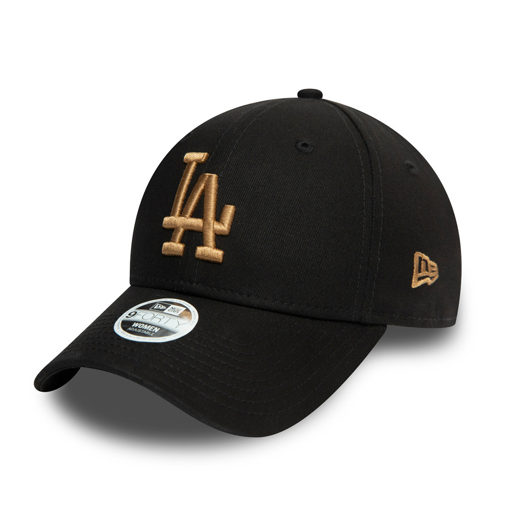 LA Dodgers Womens Colour Essential Black 9FORTY Cap