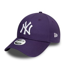 Casquette 9FORTY Colour Essential des New York Yankees, violet, femme