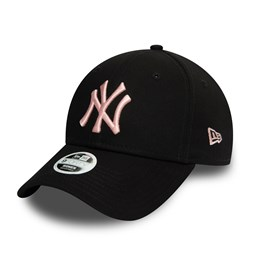 Casquette 9FORTY Colour Essential des New York Yankees, noir, femme