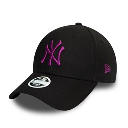 9FORTY – New York Yankees – Colour Essential – Damenkappe in Schwarz