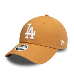 LA Dodgers Womens Colour Essential Beige 9FORTY Cap