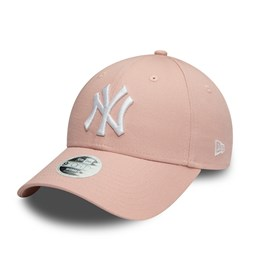New York Yankees Womens Colour Essential Pink 9FORTY Cap