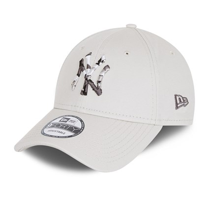 New York Yankees City Camo Youth Stone 9FORTY Cap