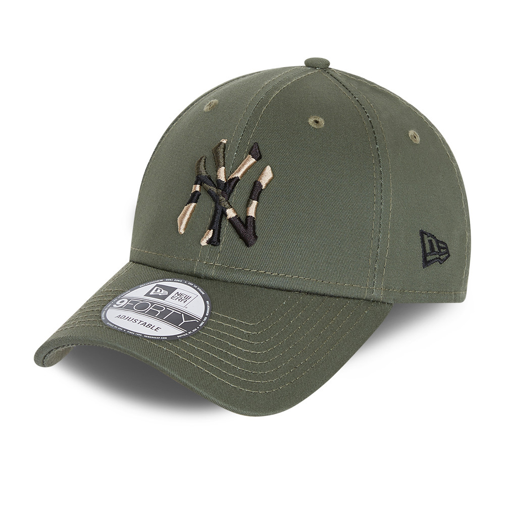 Casquette 9FORTY City Camo des New York Yankees, kaki, enfant