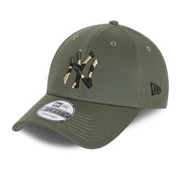 New York Yankees City Camo Youth Khaki 9FORTY Cap