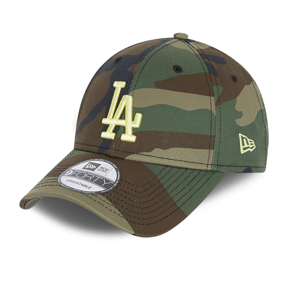 Gorra LA Dodgers All Over Print Camo 9FORTY, niño