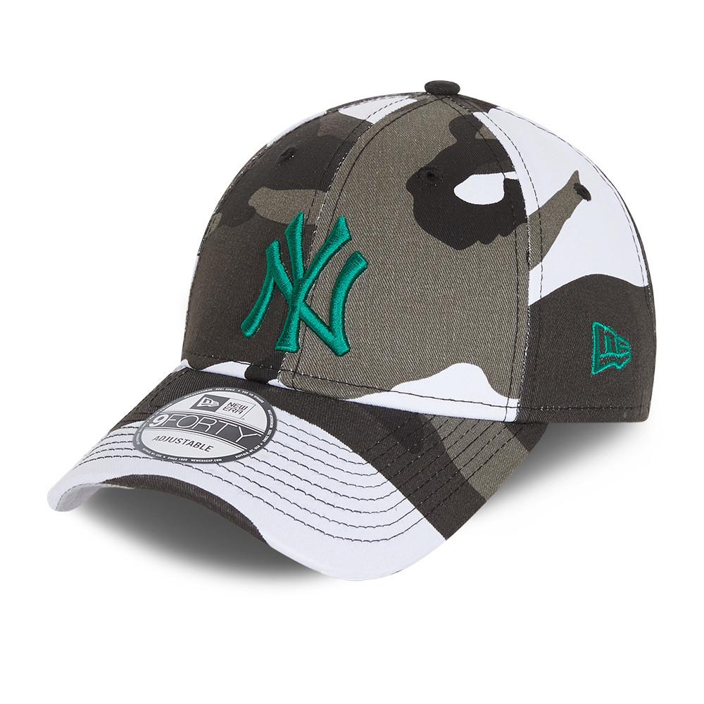 Gorra New York Yankees All Over Print Camo 9FORTY, niño