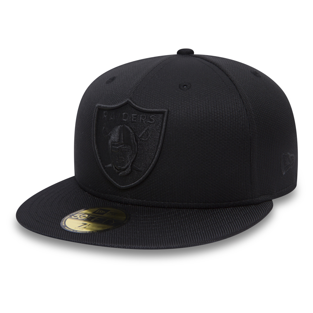 59FIFTY Black on Black – Oakland Raiders Ballistic